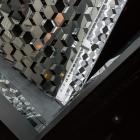 Glazen wanden van Cultuurcentrum Harpa