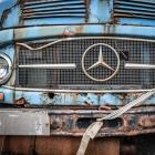 Oude Mercedes truck