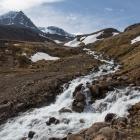 Stromende beek op IJsland