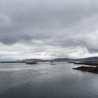 Bladstille zee bij Stykkishólmur