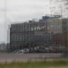 Bij de NDSM werf Amsterdam