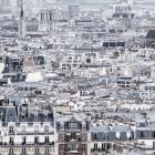 Uitzicht over Parijs vanaf de Sacré Coeur
