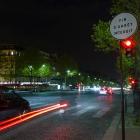 Vlakbij de Notre Dame - Parijs bij Nacht