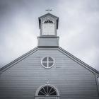 Houten kerkje in Stykkishólmur
