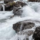 Verderop de Dynjandi of Fjallfoss waterval
