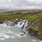 Hraunfossar waterval