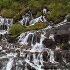 Smeltwater van de Langjökull gletsjer