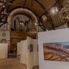 Expositie Weespers aan de Wand 2013 in de van Houten kerk te Weesp