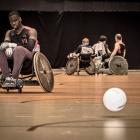 Wheelchairrugby Topsportcentrum Rotterdam