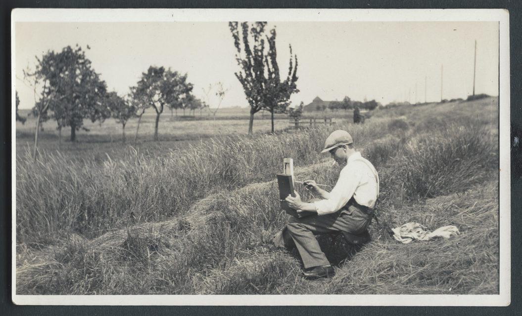 een jonge Nan Platvoet - Ilperdam circa 1925
