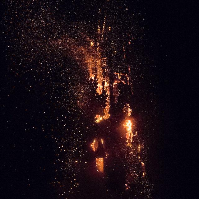 Brand in de laurentiuskerk weesp
